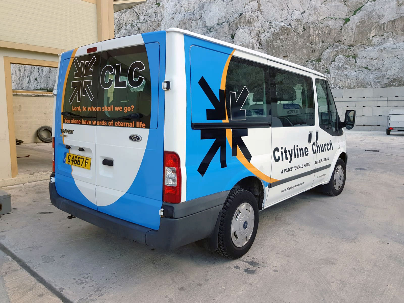 Cityline Church Bus